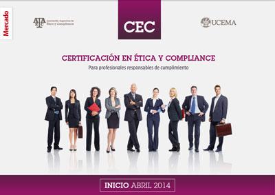 Certificación en Ética y Compliance - Inicio Abril 2014